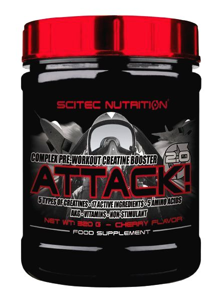 Attack 2.0 - Scitec Nutrition 320 g Pear