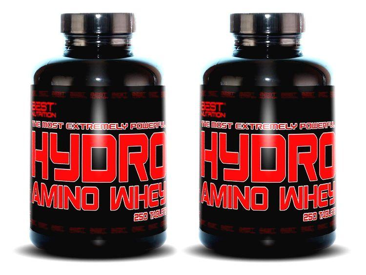 1+1 Zadarmo: Hydro Amino Whey od Best Nutrition 500 tbl. + 500 tbl.
