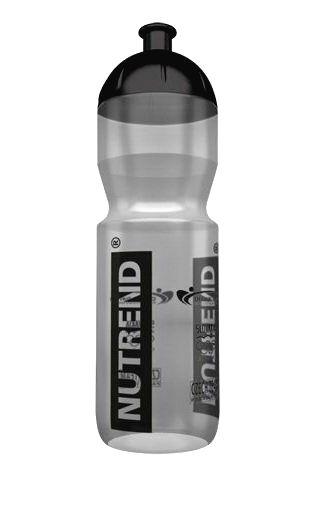 Športová fľaša priesvitná - Nutrend 750 ml. Priesvitná