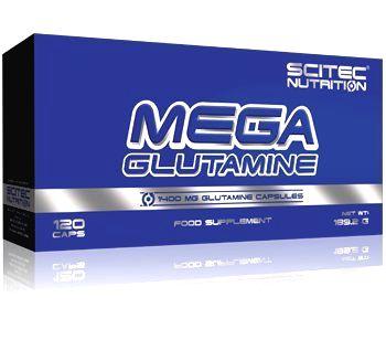 Mega Glutamine od Scitec Nutrition 120 kaps.