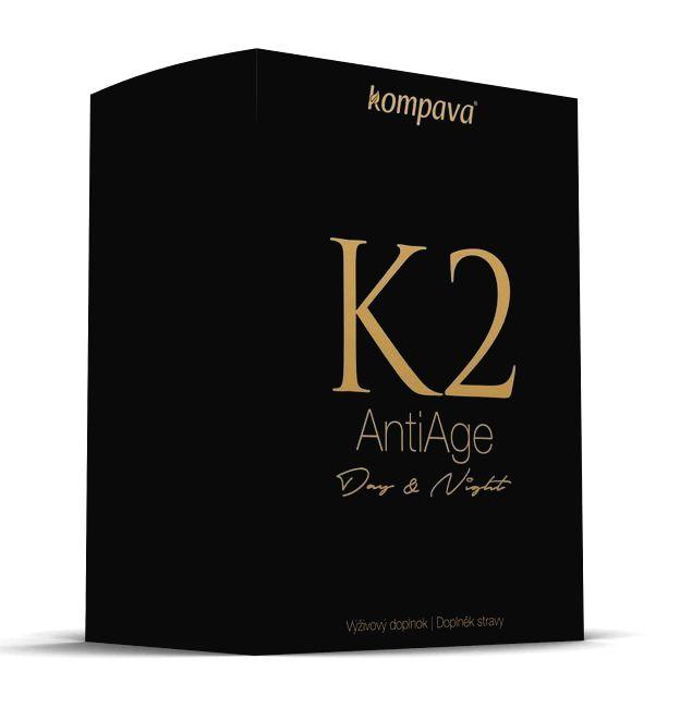 K2 Anti Age Day & Night - Kompava 120 kaps. + 60 kaps.