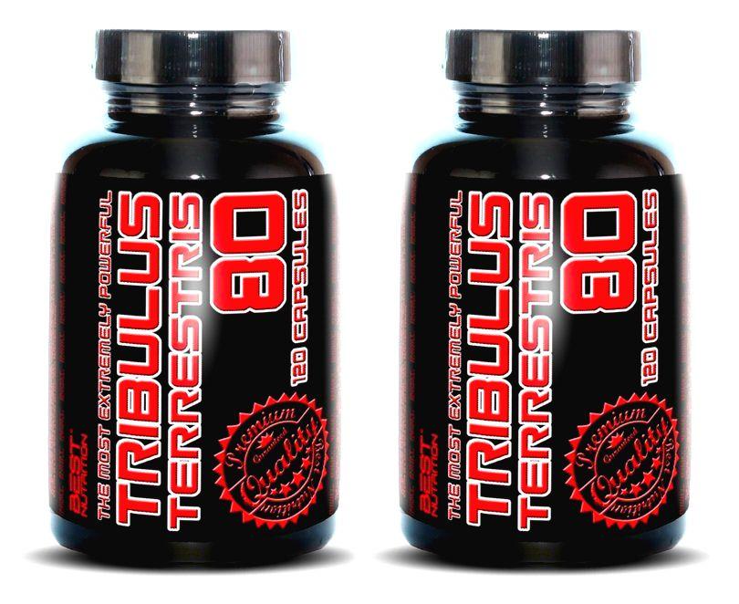 1+1 Zadarmo: Tribulus Terrestris 80% od Best Nutrition 120 kaps. + 120 kaps.