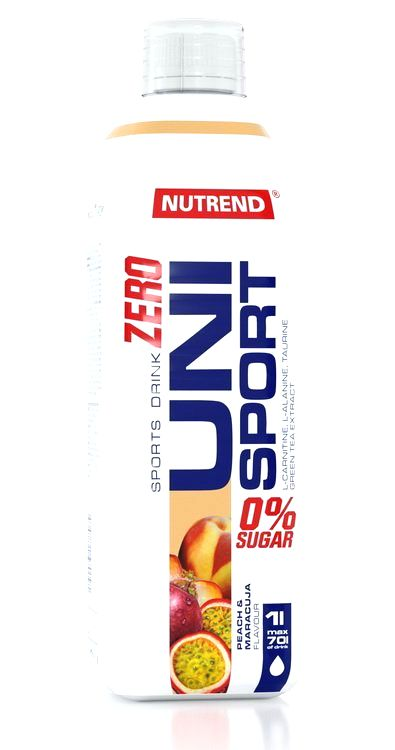 Zero UniSport (sirup na spaľovanie tukov) - Nutrend 1000 ml. Višňa+Čierna Ríbezľa