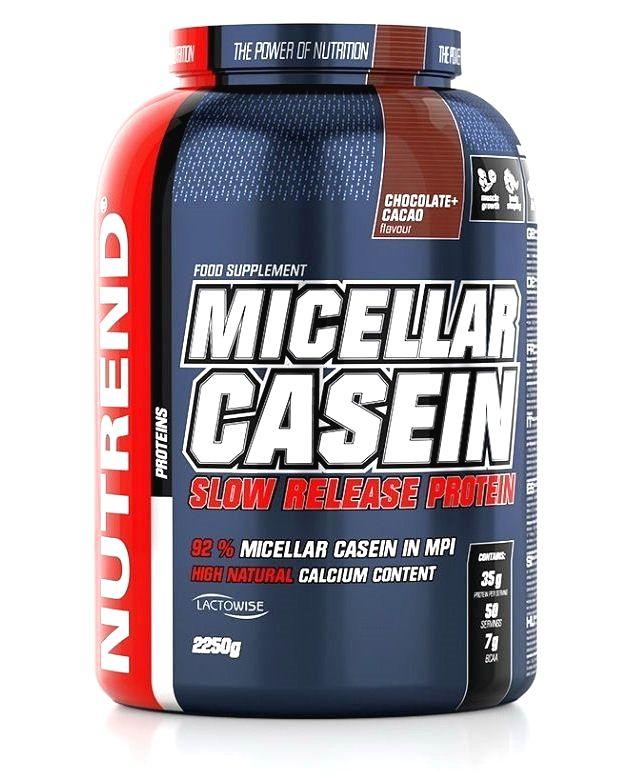 Micellar Casein - Nutrend 900 g Čokoláda+Kakao