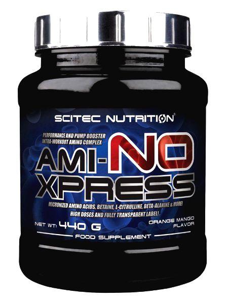 Ami-NO Xpress od Scitec Nutrition 440 g Peach Ice Tea
