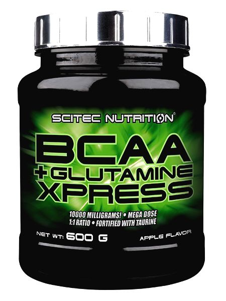 BCAA+Glutamine Xpress od Scitec Nutrition 600 g Lime