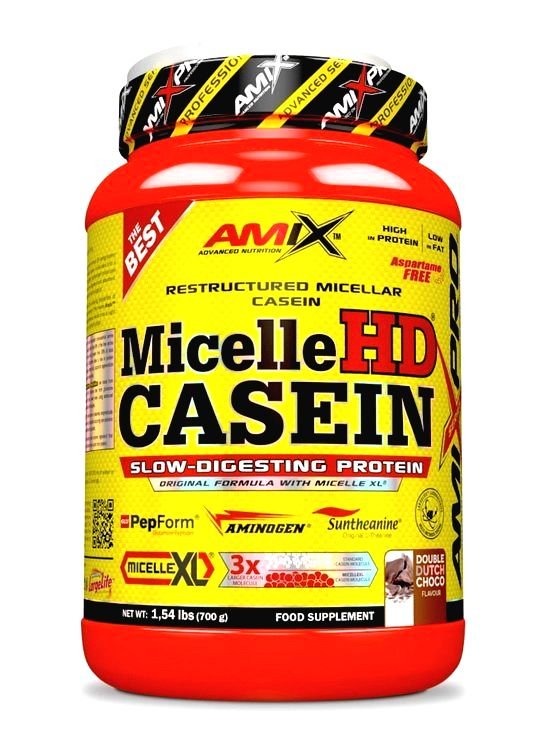 Micelle HD Casein - Amix 700 g French Strawberry Yogurt