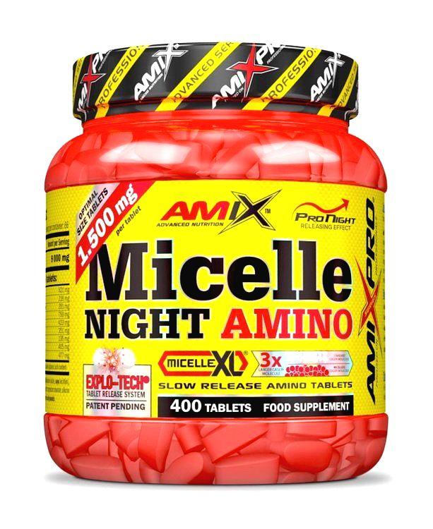 Micelle Night Amino - Amix 400 tbl.