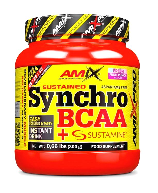 Synchro BCAA + Sustamine - Amix 300 g Fresh Watermelon