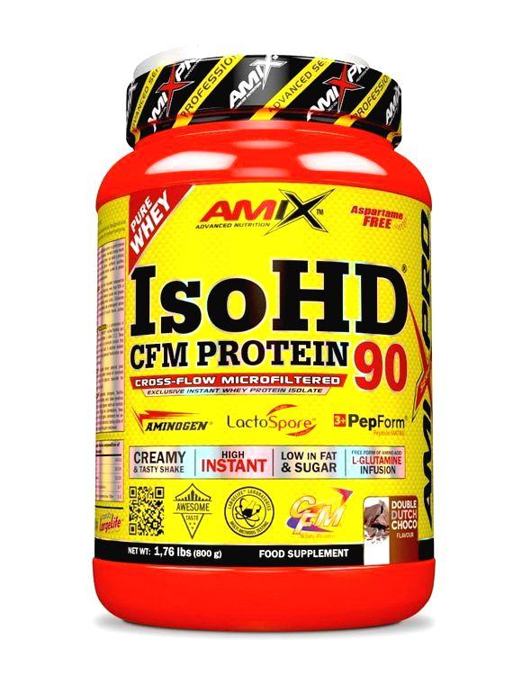 IsoHD 90 CFM Protein - Amix 800 g Moca Choco Coffee