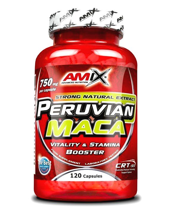 Peruvian Maca - Amix 120 kaps.