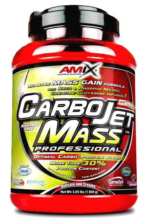 CarboJet Mass Professional - Amix 3000 g Čokoláda