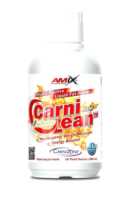 Carni Lean Liquid - Amix 480 ml. Fresh Lime