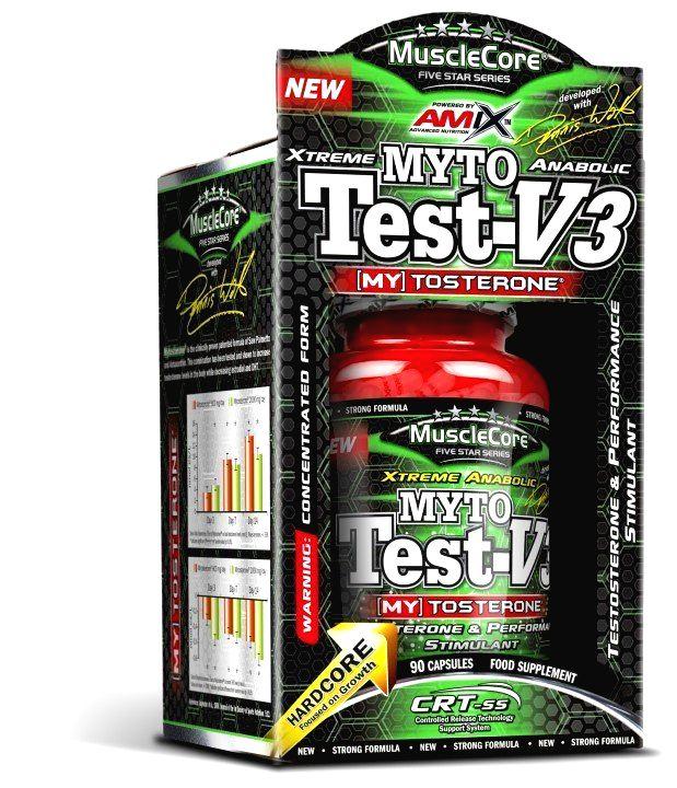 Myto Test V3 - Amix 90 kaps.