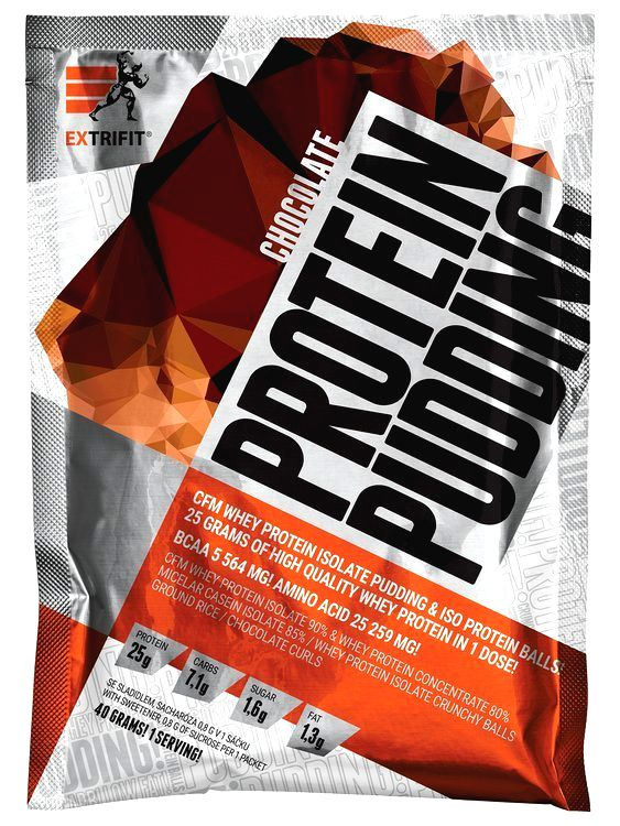 Protein Pudding - Extrifit 40 g Strawberry