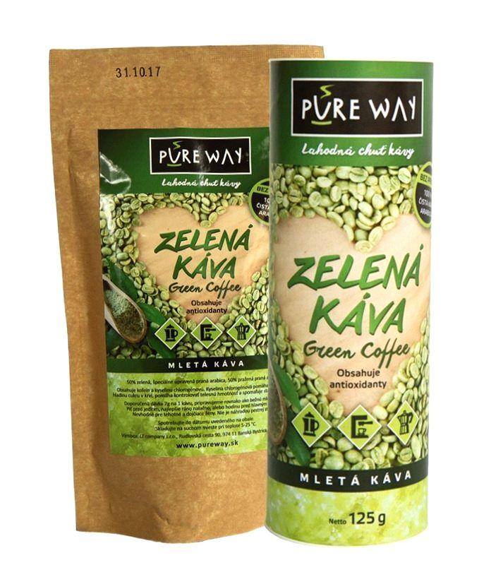Zelená káva Pure Way - Nutrend 200 g sáčok