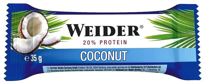 Tyčinka: Fitness Bar - Weider 35 g Hazelnut