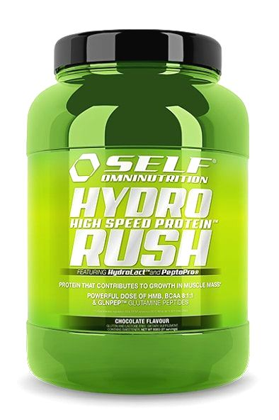 Hydro Rush High Speed Protein od Self OmniNutrition 800 g Chocolate