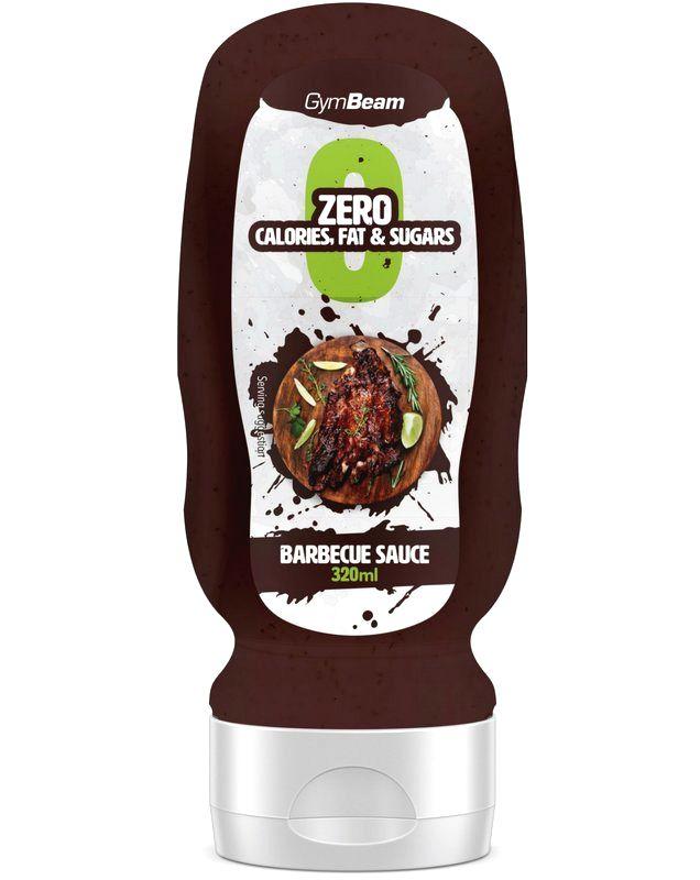 ZERO Barbecue Sauce - GymBeam 320 ml.
