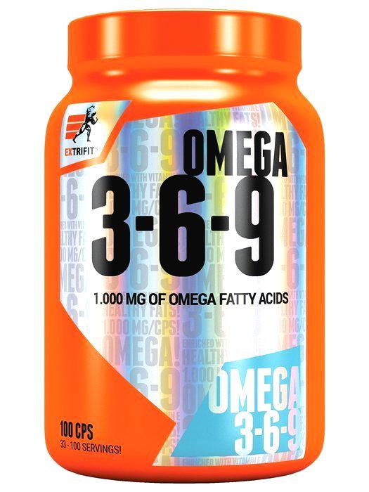 Omega 3-6-9 - Extrifit 100 kaps.
