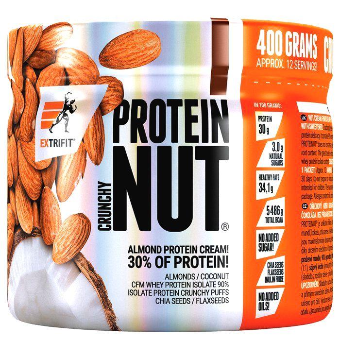 Nut Protein Crunchy - Extrifit  400 g Škoricová sušienka