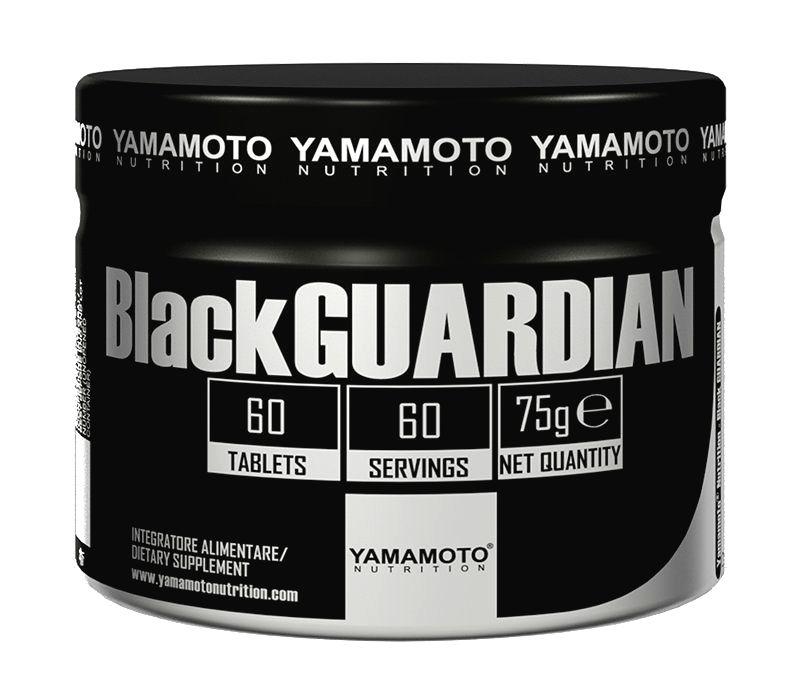 Black GUARDIAN (zbavuje telo škodlivín) - Yamamoto 60 tbl.