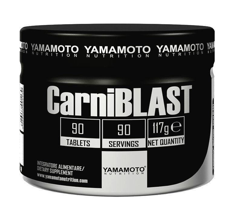 CarniBLAST (obsahuje 3 druhy karnitínu) - Yamamoto 90 tbl.