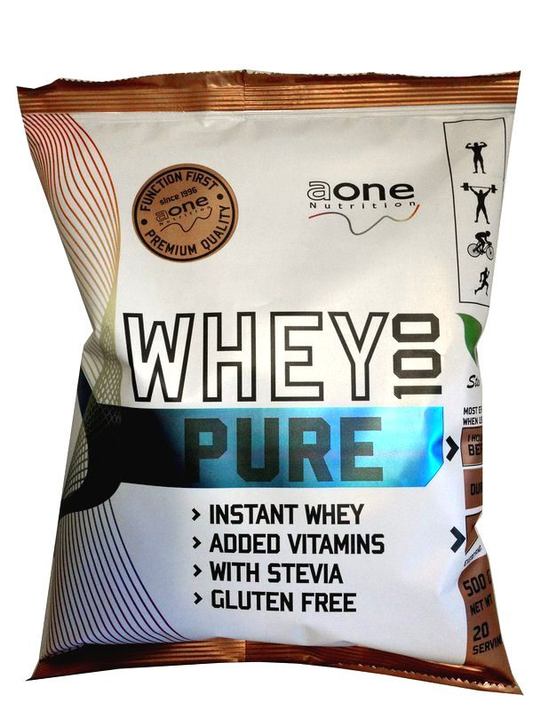 Whey 100 Pure - Aone 500 g Strawberry