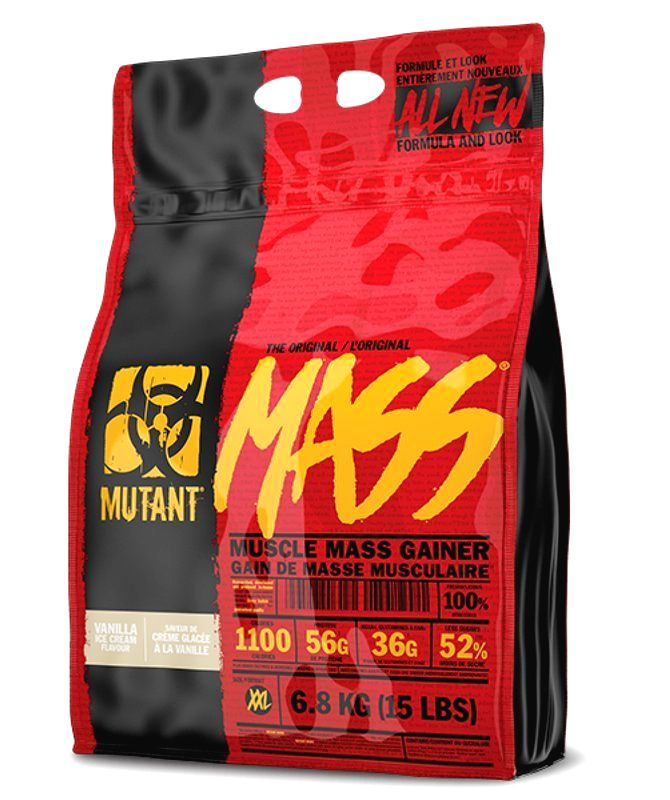 New Mutant Mass - PVL 6800 g Vanilla ice cream