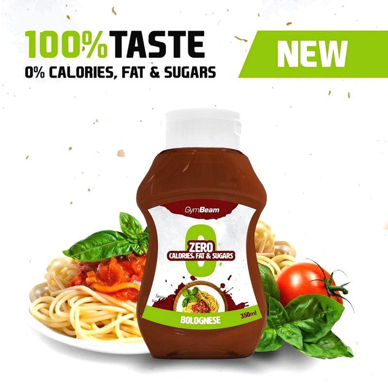 ZERO Bolognese Sauce - GymBeam 350 ml.