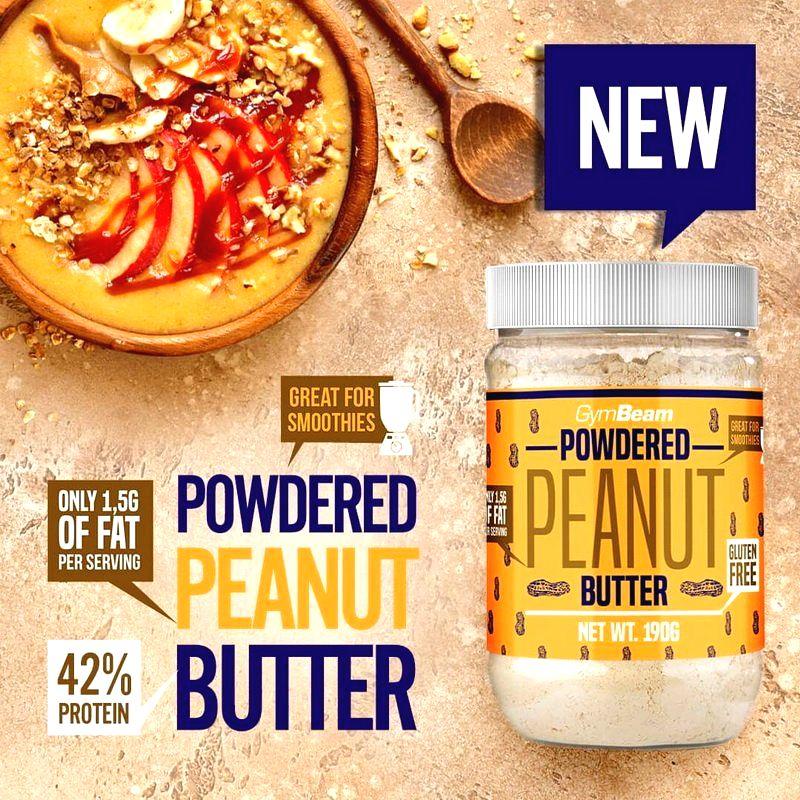 Powdered Peanut Butter - GymBeam  190 g