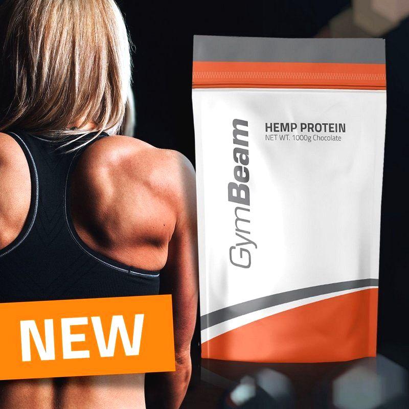 Hemp (Konopný) Protein - GymBeam 1000 g Neutral