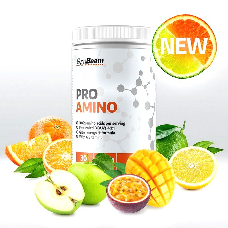 ProAmino - GymBeam  390 g Orange