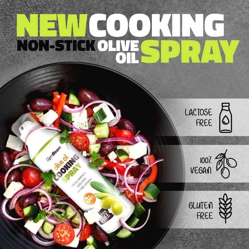 Sprej na pečenie: Olive Oil Cooking Spray - GymBeam 201 g