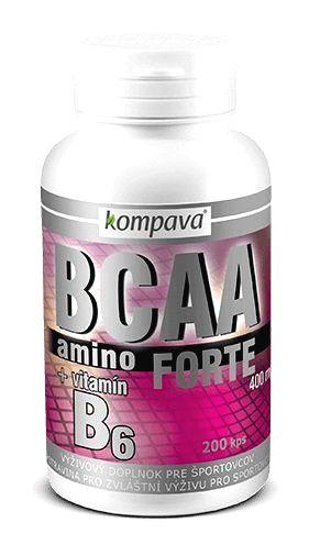 Amino BCAA Forte - Kompava 200 kaps