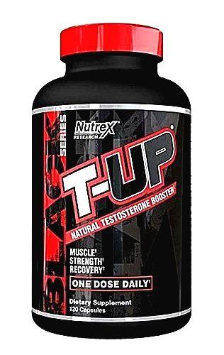 T-UP Natural Testosterone Booster - Nutrex 120 kaps.