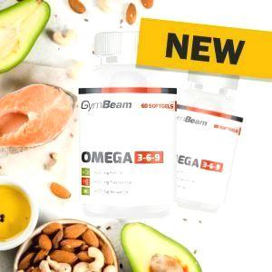 Omega 3-6-9 - GymBeam 60 softgels