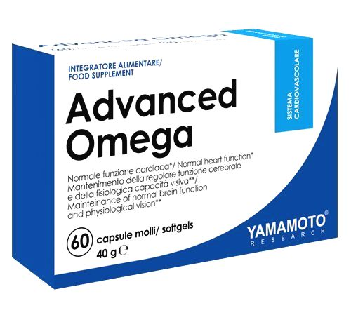Advanced Omega - Yamamoto  60 softgels