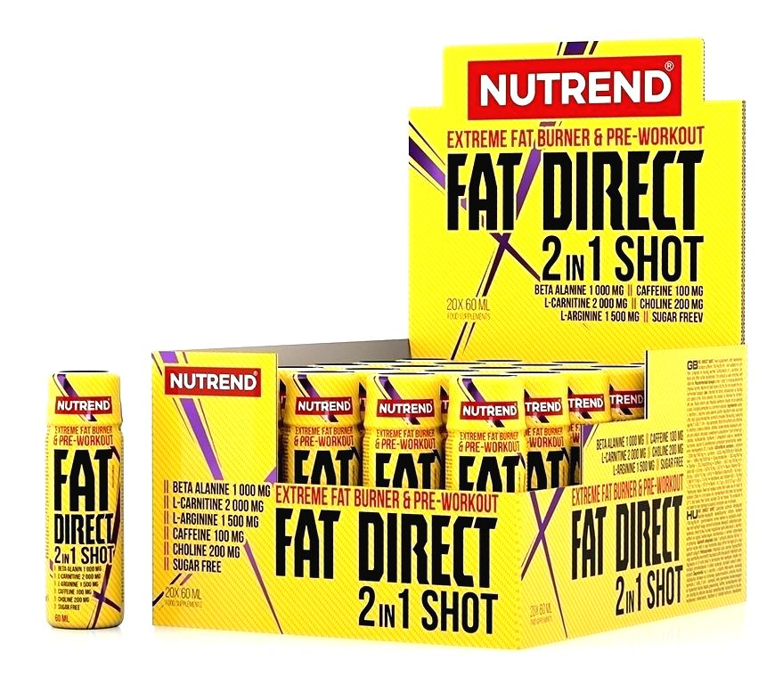 Fat Direct 2in1 Shot - Nutrend 20 x 60 ml.