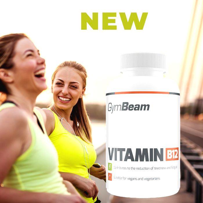 Vitamin B12 - GymBeam 90 tbl.