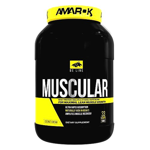 Be Muscular - Amarok Nutrition 1000 g Rich Chocolate