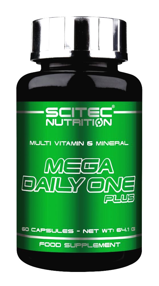 Mega Daily One Plus - Scitec Nutrition 60 kaps.