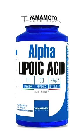 Alpha Lipoic Acid (ALA kyselina alfa-lipoová) - Yamamoto 100 kaps.
