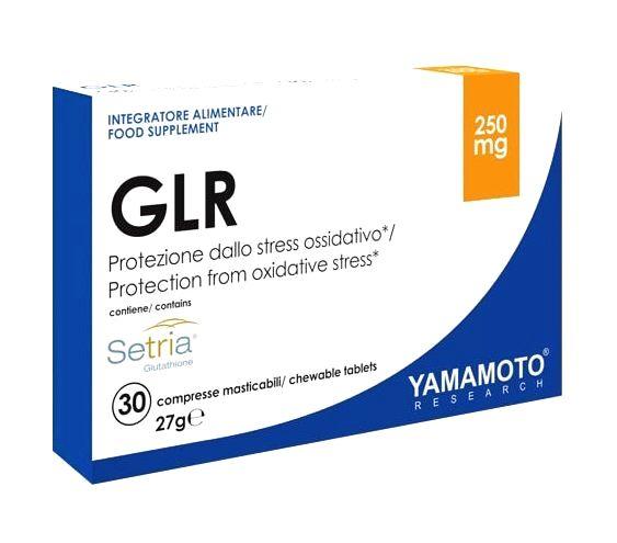 GLR  (pomáha odstraňovať toxíny z tela) - Yamamoto 30 chewable tbl.