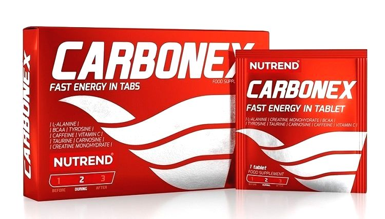 Carbonex - Nutrend 12 tbl.
