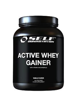 Active Whey Gainer - Self OmniNutrition 2000 g Banán-Čokoláda