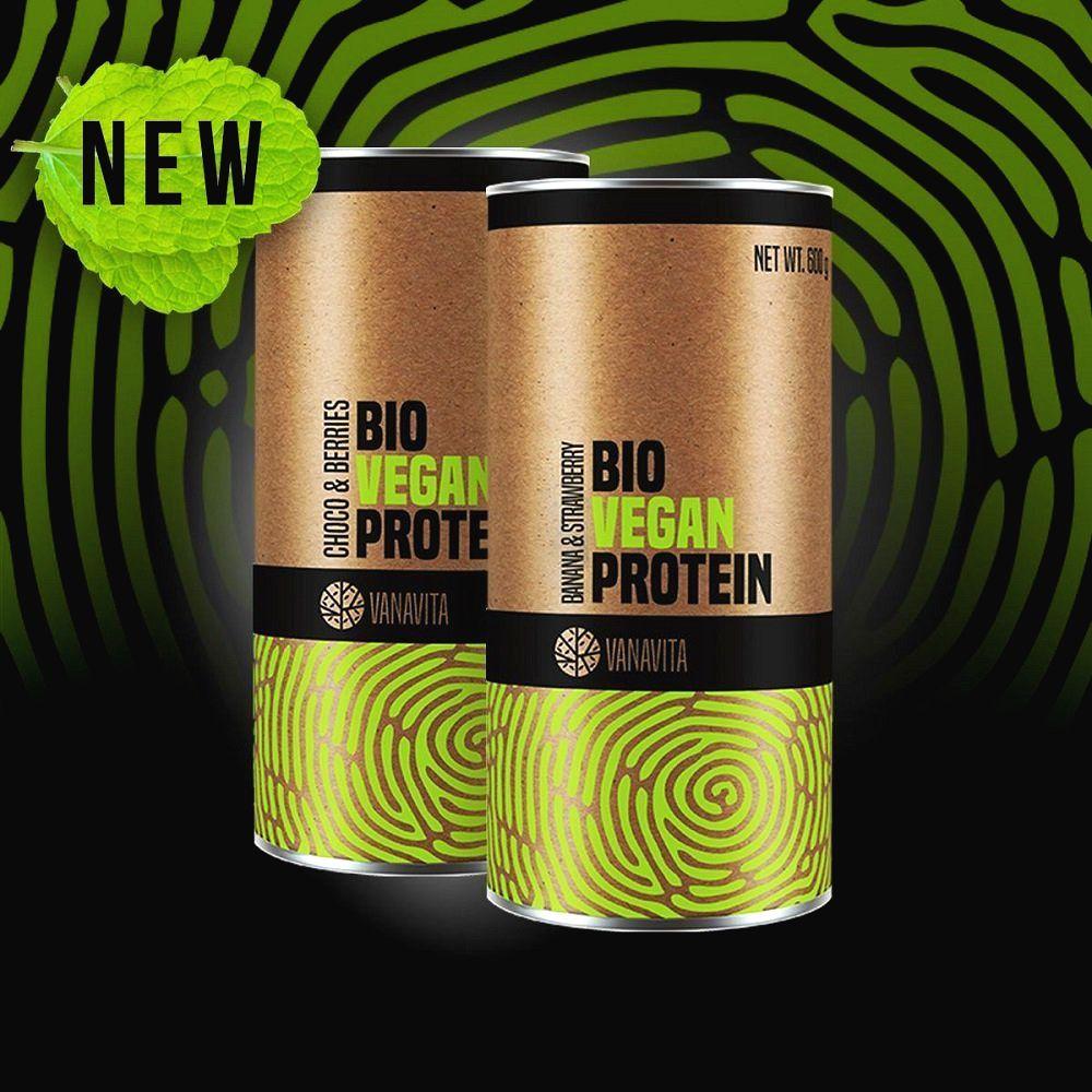 Bio Vegan Protein - Vanavita 600 g Choco + Berries