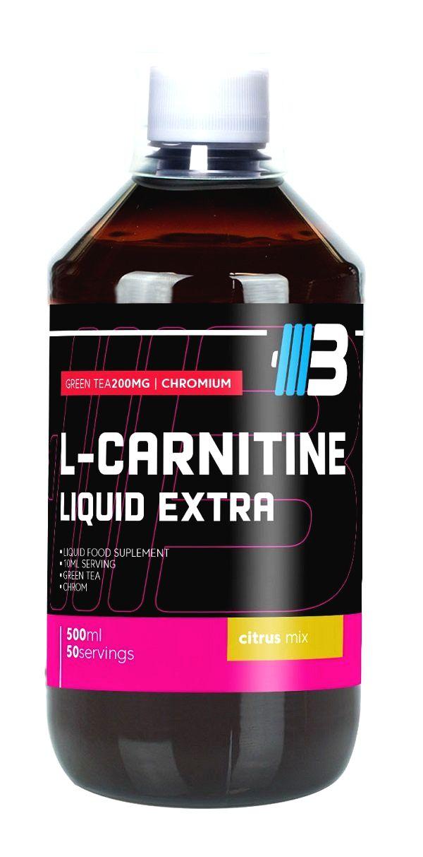L-Carnitine Liquid Extra - Body Nutrition 500 ml. Orange