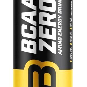 BCAA Zero plechovka - Biotech 330 ml. Raspberry+Lime