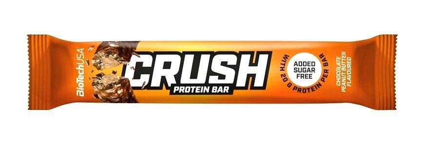 Tyčinka Crush - Biotech 64 g Toffee+Coconut